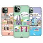 HEAD CASE DESIGNS DOODLE CITIES 4 HARD BACK CASE FOR APPLE iPHONE PHONES