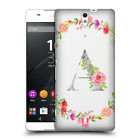 HEAD CASE DESIGNS DECORATIVE INITIALS HARD BACK CASE FOR SONY PHONES 2