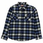 Lee Cooper Kids C Flannel Shirt Juniors Long Sleeve