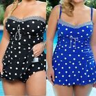 NEW Fashion Women Dot Push-UP Bikini Set Tankini Summer Swimwear Bath Suit Girls