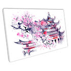 Japanese illustration art Cherry blossom pink JAPAN Ready to Hang X1062