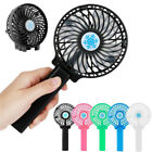 Rechargeable Fan Air Cooler Mini Operated Hand Held USB 18650 Battery Portable