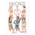 McCall's 5400 Sewing Pattern to MAKE 2-Piece Bathing Suit / Swimsuit & Coverup