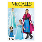 McCall's 7000 Sewing Pattern to MAKE Anna & Elsa Costumes from the Frozen Film