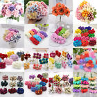 Artificial DIY Multi-colored Faux Silk Foam Rose Flowers Home Cafe Decorations