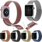 Stainless Steel Metal Milanese Band Bracelet Strap wristband for Apple Watch