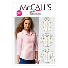 McCall's 6750 Easy Sewing Pattern to MAKE Fitted Shirt/Blouse Sleeve Variations