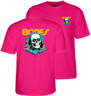 Powell Peralta Klassisch Ripper Skateboard T-Shirt Pink' 80s Retro