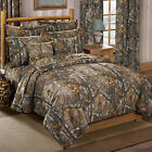 Xtra Camouflage Bedding Set Realtree Camo Comforter Bed Shams Sheets Curtains