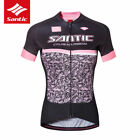 Santic Women Cycling Racing Breathable T-Shirt Short Sleeve Jersey Summer New