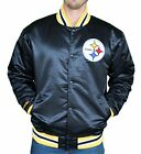 Pittsburgh Steelers NFL Mitchell & Ness Throwback Satin Jacket Men's M L XL 2XL