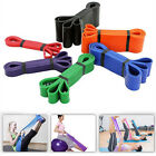 208CM Long Fitness Sports Trainning Yoga Resistance Band Elastic Pilates Loops image