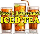 Iced Tea DECAL (Choose Your Size) Concession Food Restaurant Truck Sticker