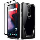 OnePlus 6 / OnePlus 7 Pro Case Rugged Clear Case,Poetic® Shockproof Bumper Cover