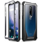 OnePlus 6 / OnePlus 7 Pro Case Rugged Clear Case,Poetic Shockproof Bumper Cover