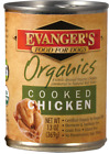Evangers 100% Organic Cooked Chicken Canned Dog Food