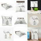 UK Made 3D New Bird Cage Sketch Design Print Duvet Covers or Tapestry or Cushion