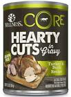 Wellness CORE Natural Grain Free Hearty Cuts Turkey and Duck Canned Dog Food