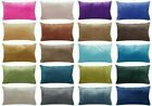 "12x20"" Soft Velvet Solid Multi-Color Throw PILLOW COVER Sofa Couch Cushion Case"