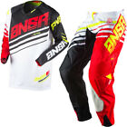 A17 ANSWER RACING ALPHA WHITE RED BLACK MENS ADULT MX SX GEAR COMBO JERSEY PANTS