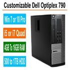 Dell Optiplex Desk PC 790/990 Windows 7/10 Intel i5/i7 Quad Core 4GB, 8GB, 16GB