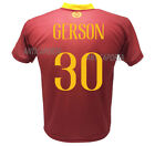 Shirt Gerson Roma 2019 Official 2018 2019 Official Product 30 Santos Silva