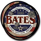 Bates Family Name Drink Coasters - 4pcs - Wine Beer Coffee & Bar Designs