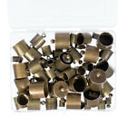 Craft County Cord End Caps Set – Bronze or Silver – Various sizes available