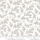 Moda Once Upon A Memory Quilt Fabric Berry Branches Style 6733/11 Snow