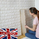 UK 3D Removable Brick Waterproof Wall Sticker Self Adhesive Panel DIY Wallpaper