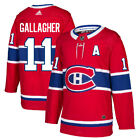 11 A Brendan Gallagher Jersey Montreal Canadiens Home Adidas Authentic