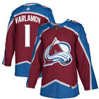 1 Semyon Varlamov Jersey Colorado Avalanche Home Adidas Authentic