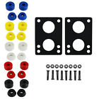"Longboard Kit Dimebag Bushings Choose Color with 1/4"" Risers and 1 1/2"" Hardware image"