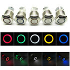 Внешний вид - Push Button Switch Ring LED Light Momentary Latching Waterproof 16mm 12V 24V 220