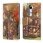 JOEL CHRISTOPHER PAYNE ENCHANTED PLACES LEATHER BOOK WALLET CASE FOR LG PHONES 2