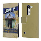 OFFICIAL JOEL CHRISTOPHER PAYNE LOVE LEATHER BOOK WALLET CASE FOR LG PHONES 2