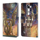 OFFICIAL MYLES PINKNEY FANTASY LEATHER BOOK WALLET CASE COVER FOR LG PHONES 2