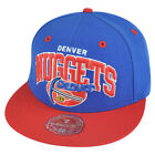 NBA Mitchell Ness Denver Nuggets TU14 2 Tone Arch Fitted Hat Cap on eBay