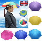 UK Headwear MultiColor Umbrella Hat Cap Beach Sun Rain Fishing Camping Hunting