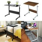 Portable Trolley Laptop Table Computer Desk Keyboard Sofa Tray Height Adjustable