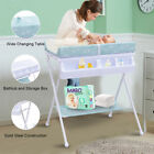 3Colors Infant Baby Bath Changing Table Diaper Station Nursery Organizer Storage
