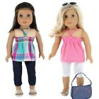 """American Girl Doll Clothes, 18"""" doll clothes Set- 7 Pc., by PZAS Toys"""