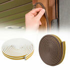 5M D Type Draught Excluder Self Adhesive Rubber Seal Strip Foam For Window Door