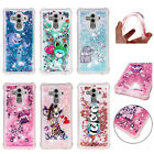Dynamic Liquid Glitter Quicksand Case Cover for Huawei Mate 10 Pro Enjoy 7S 6S