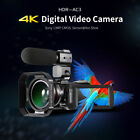 ORDRO Camcorder 4K Ultra HD 60FPS Video Camera with Wifi External Microphone <br/> ORDRO Series HD Camera&radic; Wide Angle Lens&radic; Accessories&radic;