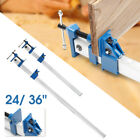 24/36'' Quick Release F-Clamp Bar Clamp For Woodworking Wood Clamping Carpenter