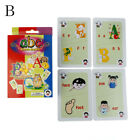 36Pcs Flash Cards Learn English Word Number Kid Literacy Game Educational Toy US