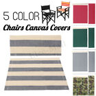 Внешний вид - Casual Directors Chairs Replacement Canvas Seat Stool and Back Covers Sheet Kits