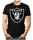 Herren Fan T-Shirt - Oakland Raiders American Super Bowl NFL Small bis 5XL