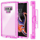 For Sumsung GALAXY Note 9 Shockproof Hybrid Armor Hard Rugged Clear Case Cover